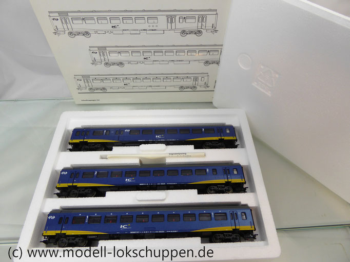 Märklin 42643 Wagenset Inter-City Plus /  3 Schnellzugwagen NS