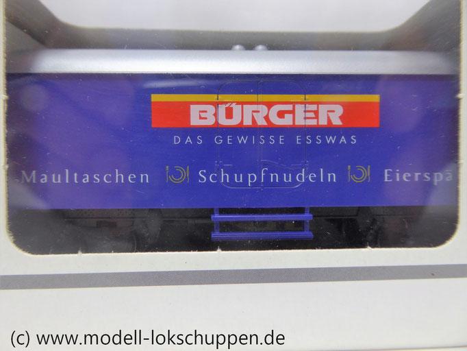 """Märklin 94154 Kühlwagen Ichqrs 377 """"Bürger"""""""