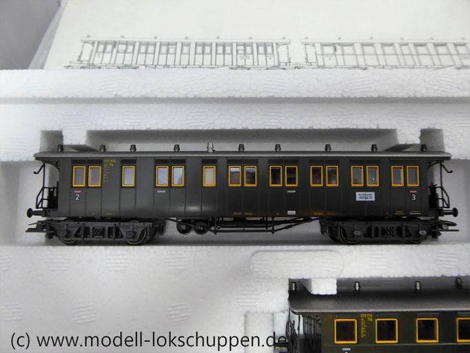 "Märklin 42102 Wagenset ""Württembergischer Personenzug"", Ep. III"