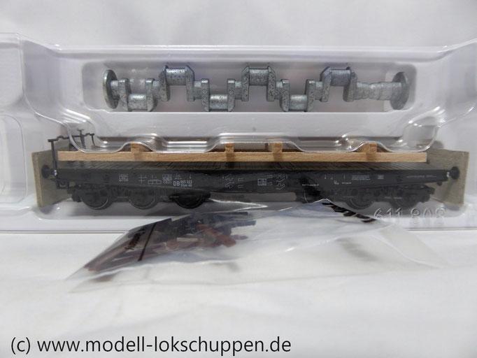 Märklin 48675  Schwerlastwagen mit Schiffskurbelwelle  Epoche III