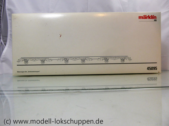 "Märklin 45095 Wagen-Set ""Schienentransport"""