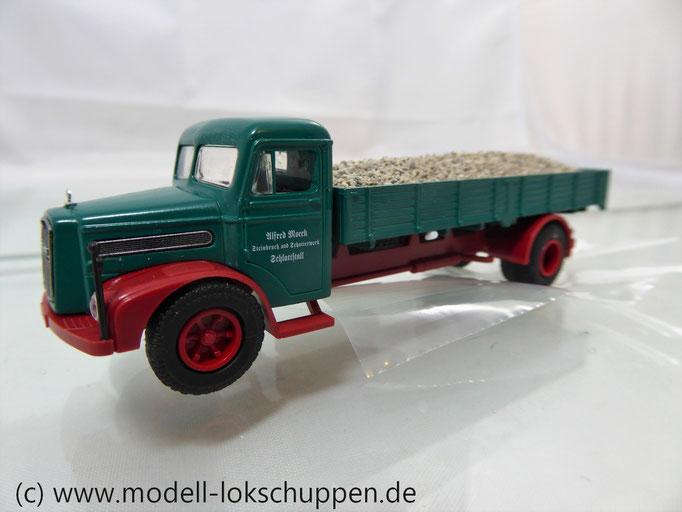 "Märklin 18300 Modellauto-Set ""Schotterwerk"" - MAN F8"