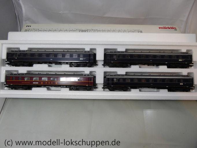 """Märklin 42281 Schnellzug-Wagenset """"Glückauf"""", Ep. III"""
