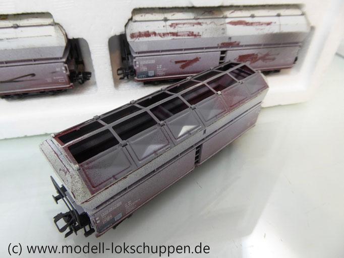 Märklin 46262 Wagen-Set 5-teilig  Selbstentladewagen Kalktransport der DB