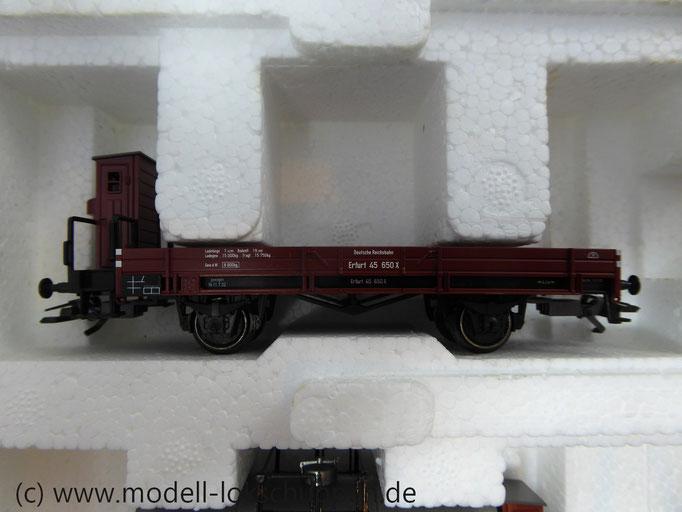 Märklin 47895 Güterwagen-Satz Niederbordwagen mit Bremserhaus