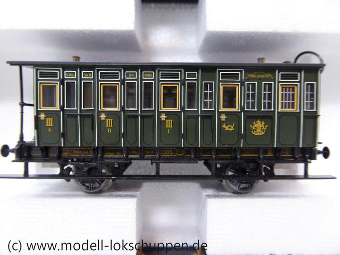 """Märklin  43982Bayerischer Personenzug um 1880 K.Bay.Sts.B. """"Sauerlach"""""""