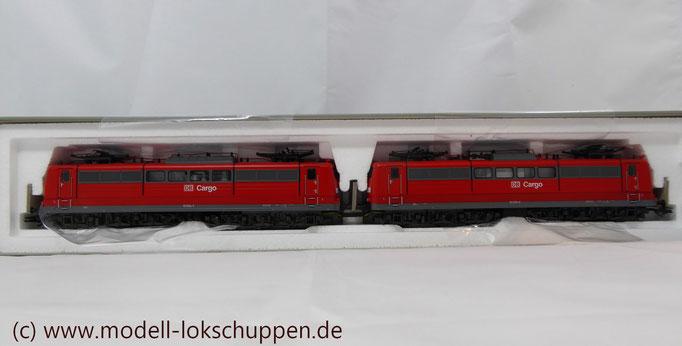 """Güterzuglokomotive """"Doppeltraktion"""" BR 151 der DB AG / Märklin 37432 MHI `99  3"""