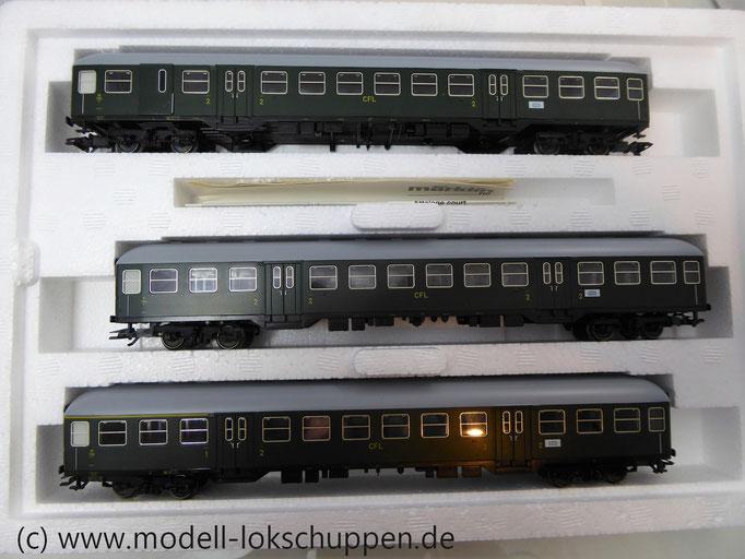 Märklin 41273 Nahverkehrswagen-Set Luxemburg