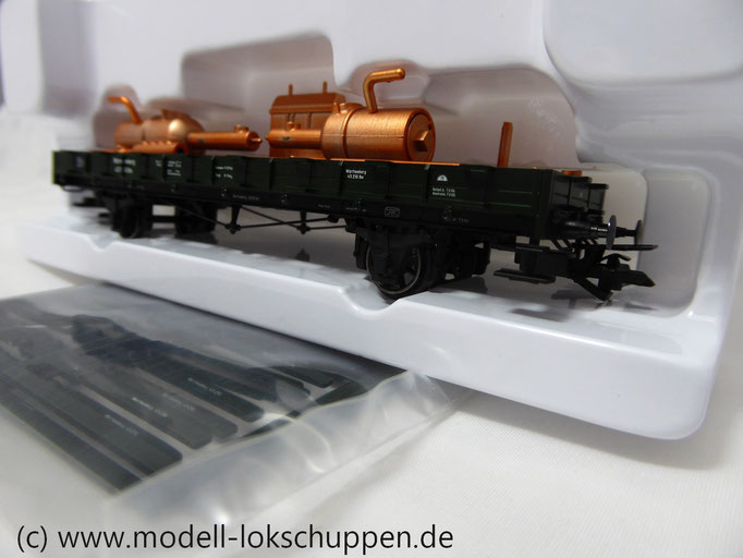 Märklin 46364 Rungenwagen mit Destille der K.W.St.E. Epoche I