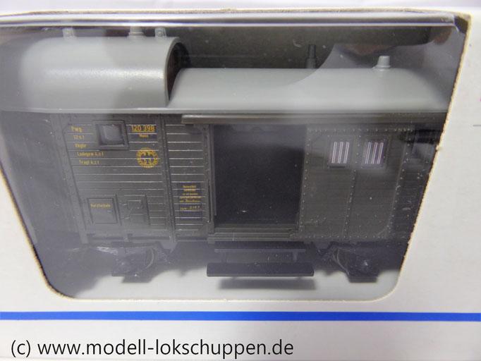 Märklin 4699 Güterzug-Gepäckwagen der DB/ DRG Epoche II OVP