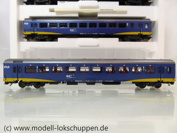 Märklin 42643 Wagenset Inter-City Plus /  3 Schnellzugwagen NS