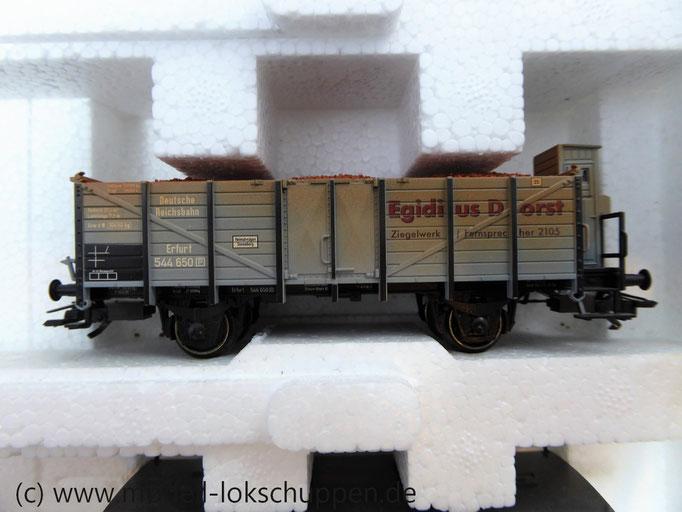 Märklin 47895 Güterwagen-Satz Hochbordwagen mit Ziegelladung grau