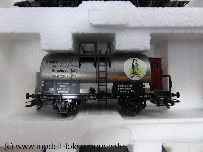 Märklin 47895 Güterwagen-Satz Kesselwagen Brauerei zum Stadtkeller