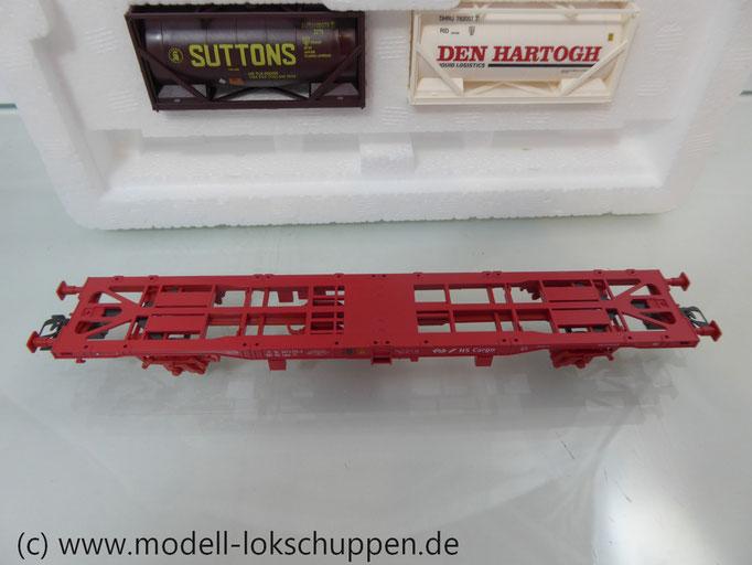 """Märklin 47704  Containerwagen-Set  """"Rotterdam"""" / 2 Lgjns 570 mit Container"""