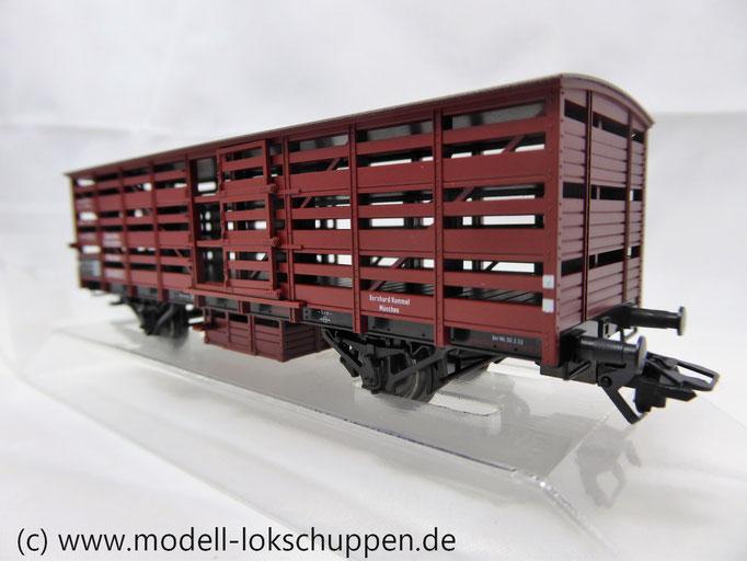 46161 Gedeckter Güterwagen / Verschlagwagen der DRG