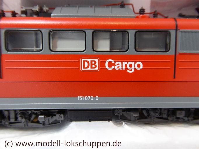 """Güterzuglokomotive """"Doppeltraktion"""" BR 151 der DB AG / Märklin 37432 MHI `99  7"""