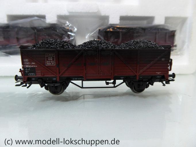 """Märklin 46034 Wagen-Set """"Kohlentransport"""" der  Deutschen Bundesbahn"""