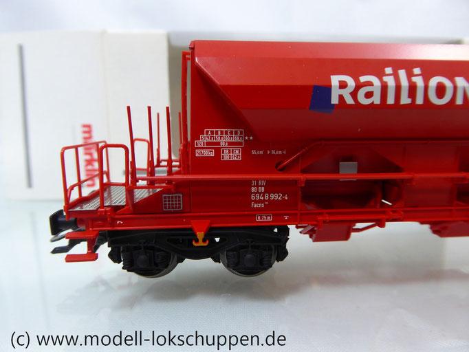 48101 Märklin HO - Selbstentladewagen Bauart: Facns 133 der DB-CARGO