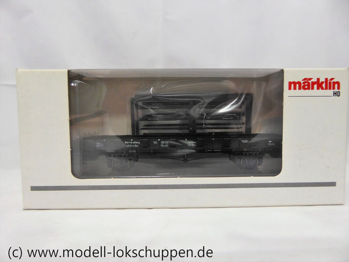 Märklin 46360 Rungenwagen Rm der K.W.St.E., Epoche I