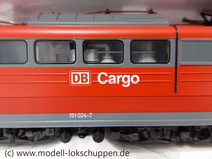"""Güterzuglokomotive """"Doppeltraktion"""" BR 151 der DB AG / Märklin 37432 MHI `99  6"""