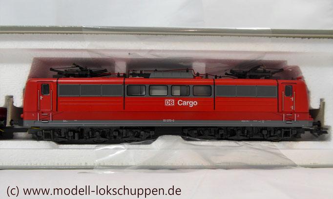 """Güterzuglokomotive """"Doppeltraktion"""" BR 151 der DB AG / Märklin 37432 MHI `99  5"""