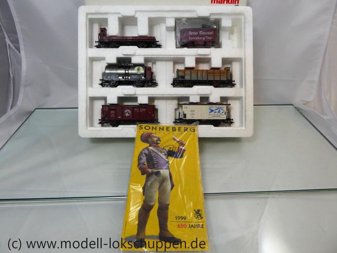 "Märklin 47895 Güterwagen-Satz ""650 Jahre Sonneberg"""