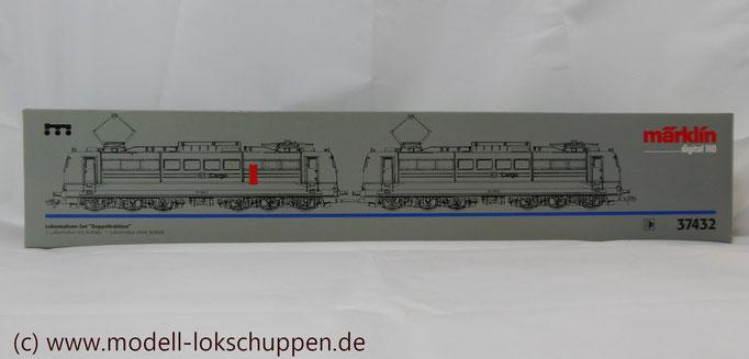 """Güterzuglokomotive """"Doppeltraktion"""" BR 151 der DB AG / Märklin 37432 MHI `99   1"""
