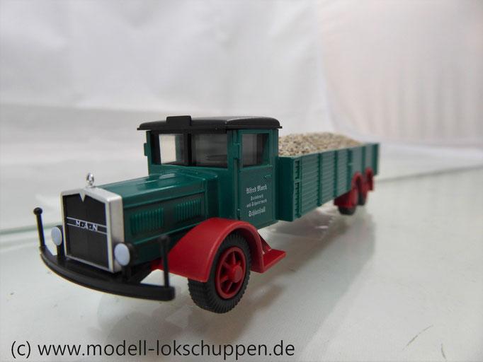 "Märklin 18300 Modellauto-Set ""Schotterwerk"" - MAN SIH6"