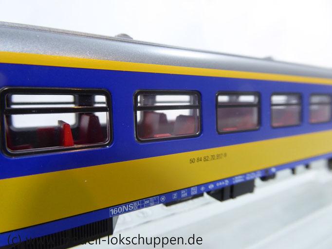 Märklin 42645 Inter-City Schnellzugwagen der NS 2. Klasse