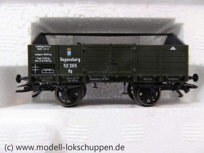Märklin 46020  Mittelbordwagen-Set, K.Bay.Sts.E.