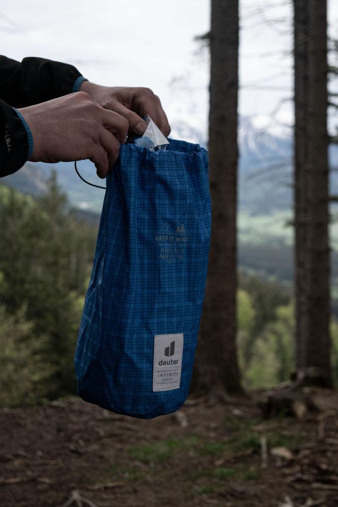 Infinity Dirtbag blue