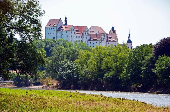 Schloss Colditz an der Zwickauer Mulde - Foto: Andreas Schmidt