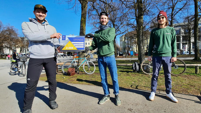 Radlabor Spendenübergabe - Socialride München