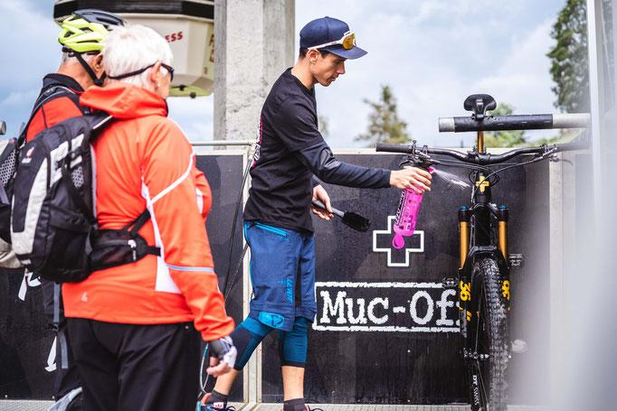 Tipps und Tricks von Muc-Off zur Bikepflege.