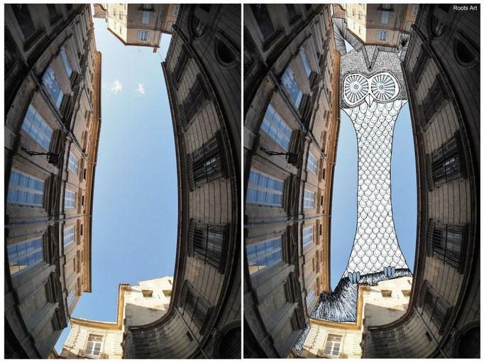 SkyArt Avignon IV France 2012