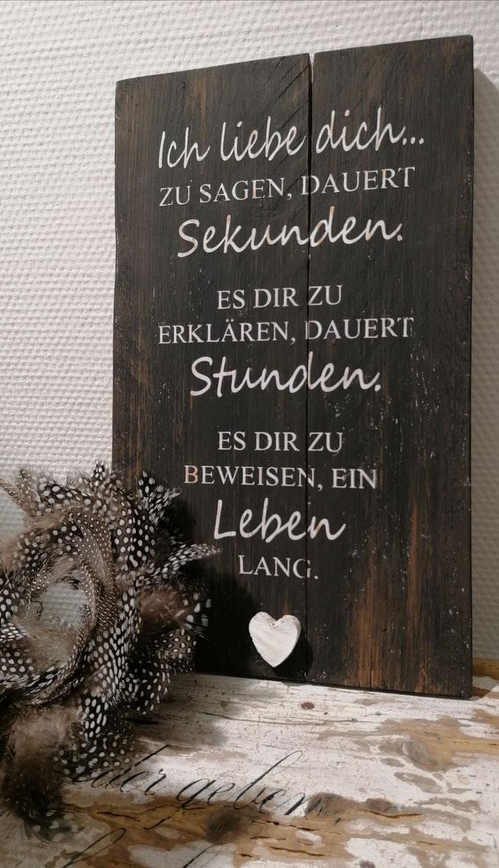 Tafel aus Einweg-Palettenholz, 22 x 38 cm, Fr. 89. -