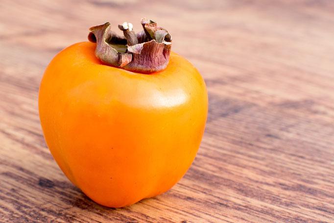 Caqui: Esta fruta tropical es una de las más características del otoño.