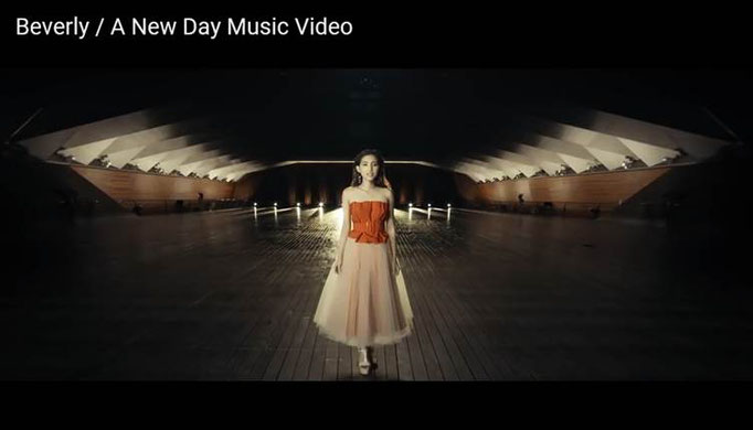 Beverly「A New Day」衣装製作