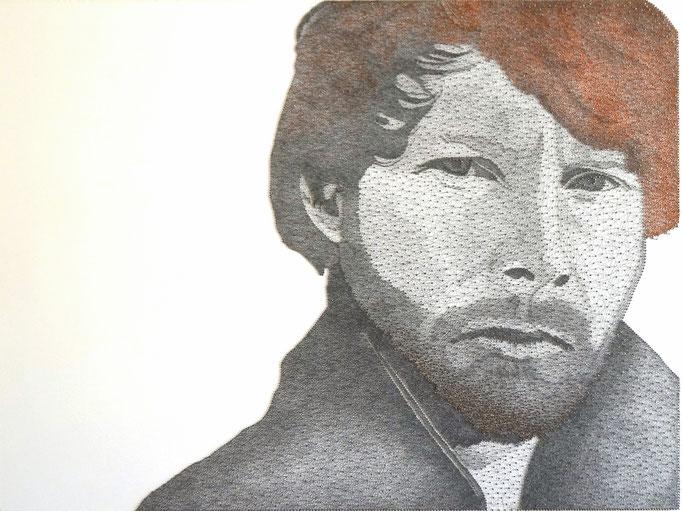 string art porträt nr. 26   -   75 x 100 cm   -   available