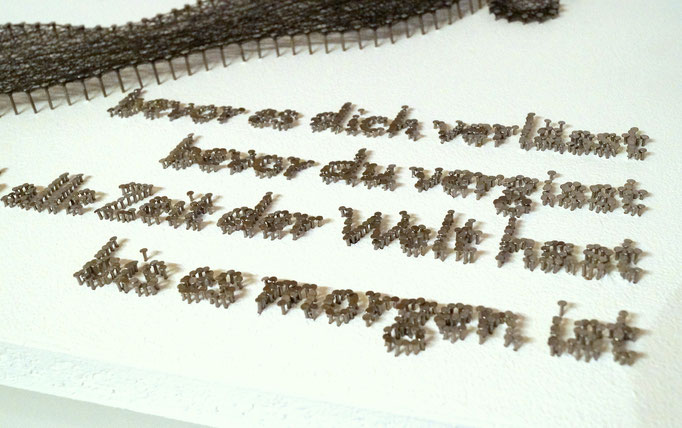 string art nr. 13   -   68x37cm   -   available   (text - spaceman spiff)