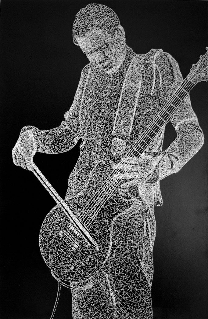 string art porträt nr. 40   -   56 x 85 cm   -   available