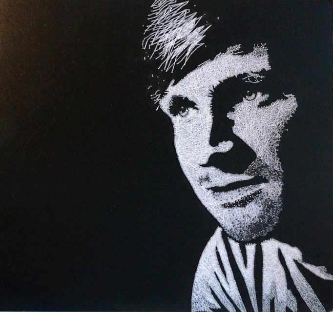 string art porträt nr. 19   -   68,5x64cm   -   available