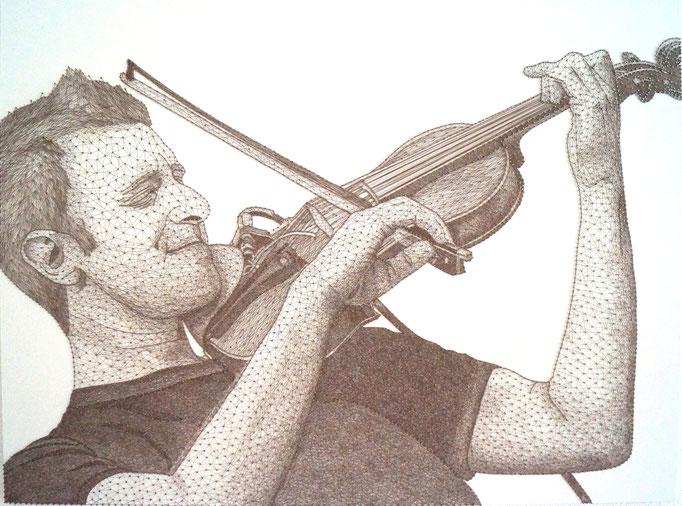 string art porträt nr. 41   -   75 x 100 cm   -   available