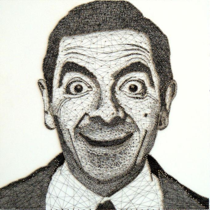 string art porträt nr. 24   -   45x45cm   -   available