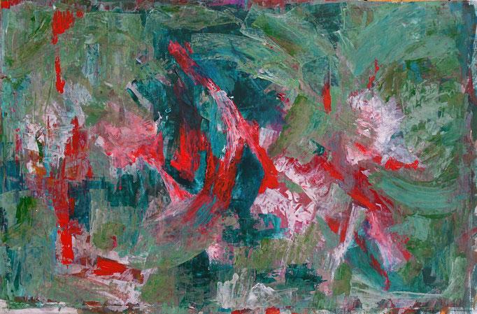 Johanna Schott // o.T. 4 // Acryl auf Papier // 48,5 x 74 cm // 2020