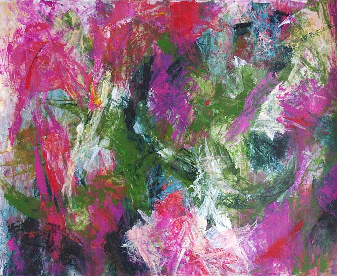 Johanna Schott // o.T. 12 // Acryl auf Papier // 59 x 72,3 cm // 2020