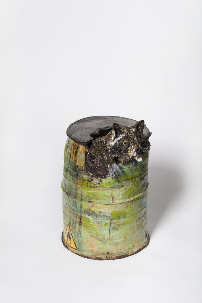 HOLGER (INEBG) 2021 Glasierte Keramik 70 x 34 x 35 cm