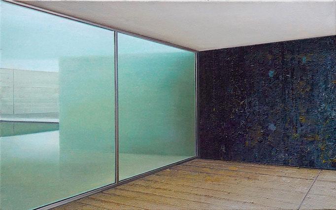 WINDOW, 2020, Öl auf Leinwand, 50 x 80 cm