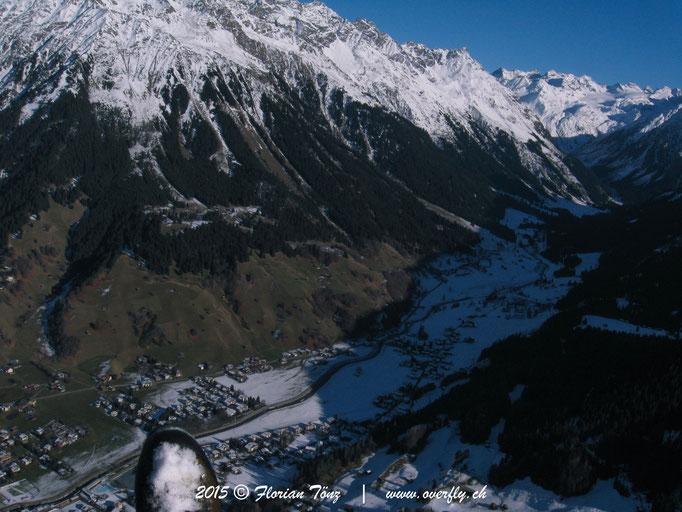 2015.12.05 Winterflug über Klosters