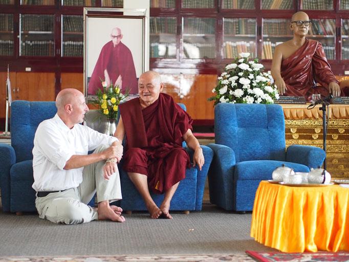 Teachings zu Meditation; The Mahasi Meditation Center, Rangoon, Burma